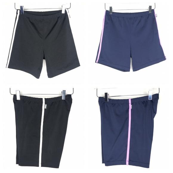 Avia Pants - Avia Black & Blue Athletic Shorts Set A090546